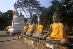 Wat Chang Lom Ancient Buddhist Temple at Sri Satchanaiai Historical Park, Thailand Stock Photo