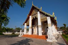 Wat Chang Lom In Nan Thailand Stock Photo