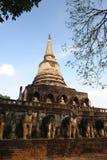 Wat Chang Lom, Si Satchanalai Historical Park. Thailand Royalty Free Stock Images
