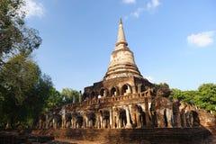 Wat Chang Lom, Si Satchanalai Historical Park Royalty Free Stock Photos
