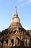Wat Chang Lom, Si Satchanalai Historical Park Royalty Free Stock Photo