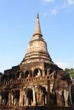 Wat Chang Lom, Si Satchanalai Historical Park Royalty Free Stock Photo