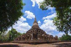 Wat Chang Lom. Si Satchanalai historical park, Sukhothai, Thailand Stock Image