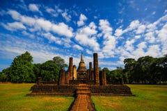 Wat Chang Lom. Si Satchanalai Historical Park at Sukhothai Thailand Stock Images