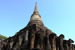 Wat Chang Lom, Si Satchanalai Historical Park, Thailand Royalty Free Stock Photo
