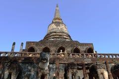Wat Chang Lom, Si Satchanalai Historical Park, Thailand Royalty Free Stock Images