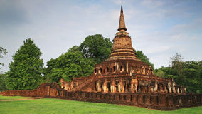 Wat Chang Lom at Srisatchanalai historical park in Sukhothai Stock Images