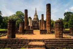 Wat Chang Lom at Srisatchanalai historical park in Sukhothai pro Royalty Free Stock Images