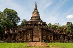 Wat Chang Lom at Srisatchanalai historical park in Sukhothai pro Royalty Free Stock Photos