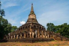 Wat Chang Lom at Srisatchanalai historical park in Sukhothai pro Stock Photo