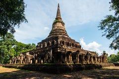 Wat Chang Lom at Srisatchanalai historical park in Sukhothai pro Royalty Free Stock Photo