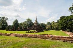 Wat Chang Lom at Srisatchanalai historical park in Sukhothai pro Stock Photography