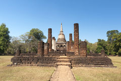 Wat Chang Lom in Sukhothai Historical Park Stock Photography