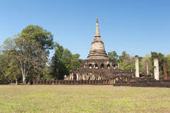 Wat Chang Lom in Sukhothai Historical Park Royalty Free Stock Photography