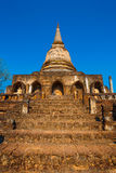 Wat Chang Lom Temple en el parque histórico del Si Satchanalai, un sitio del patrimonio mundial de la UNESCO en Sukhothai Fotografía de archivo