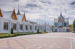 Wat chantharam landscape Royalty Free Stock Photo