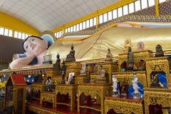 Wat Chayamangkalaram乔治城槟榔岛马来西亚 图库摄影