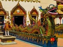 Wat Chayamangkalaram arkivfoto