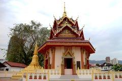 Wat Chayamangkalaram Annex Fotografía de archivo libre de regalías