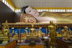 Wat Chayamangkalaram Georgetown Penang Malezja Zdjęcia Stock