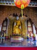 Wat Chayamangkalaram, interior fotografía de archivo libre de regalías