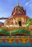 Wat Chayamangkalaram Thai Temple del Buda de descanso Penang fotografía de archivo libre de regalías