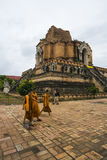 Wat Cheddi Luang Royalty Free Stock Photography