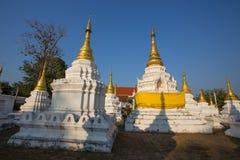 Wat Chedi圣地寺庙, Lampang,泰国 免版税库存照片