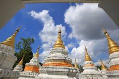 Wat Chedi圣地郎,佛教寺庙在Lampang, Tha北部  库存图片