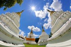 Wat Chedi圣地, Lampang,泰国 免版税库存图片