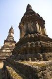 Wat Chedi Chet Thaeo Stock Photo