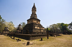 Wat Chedi Chet Thaeo Stock Image