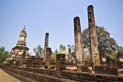 Wat Chedi Chet Thaeo Royalty Free Stock Images