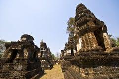 Wat Chedi Chet Thaeo Royalty Free Stock Photo