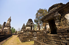 Wat Chedi Chet Thaeo Royalty Free Stock Photography