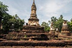Wat Chedi Chet Thaew at Srisatchanalai historical park in Sukhot Stock Images