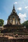 Wat Chedi Chet Thaew at Srisatchanalai historical park in Sukhot Royalty Free Stock Photos