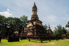 Wat Chedi Chet Thaew at Srisatchanalai historical park in Sukhot Stock Photo
