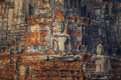 Wat Chedi Jet Thaew en el parque histórico del Si Satchanalai en Sukhothai, Tailandia Imagen de archivo libre de regalías