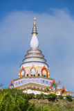 Wat Chedi Kaew Thaton temple or Crystal Pagoda Royalty Free Stock Images
