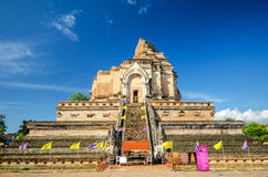 Wat chedi laung Royalty Free Stock Photos