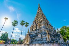 Wat Chedi Liam lizenzfreies stockfoto