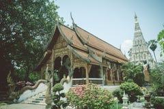 Wat Chedi Liam hermoso (templo de la pagoda ajustada), el onl imagenes de archivo
