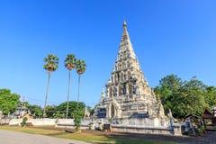 Wat Chedi Liam Ku Kham o templo de la pagoda ajustada en la ciudad antigua de Wiang Kum Kam, Chiang Mai, Tailandia imagen de archivo libre de regalías