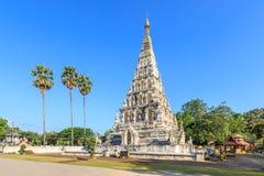 Wat Chedi Liam Ku Kham o templo de la pagoda ajustada en la ciudad antigua de Wiang Kum Kam, Chiang Mai, Tailandia imagenes de archivo