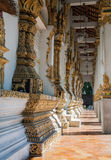 Wat chedi lium, Wiang kumkam,Chiangmai Royalty Free Stock Photo