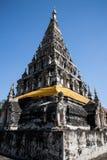 Wat chedi lium, Wiang kumkam,Chiangmai Royalty Free Stock Photos