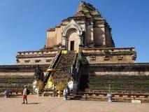 Wat Chedi Luang стоковые фото