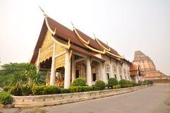 Wat Chedi Luang Royalty-vrije Stock Foto's
