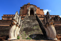 Wat Chedi Luang Stock Photo